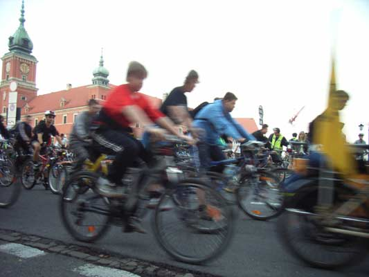 Warsaw Critical Mass